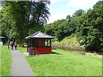 NY6820 : Riverside walk at Appleby-in-Westmorland by Oliver Dixon