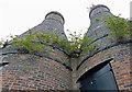 SJ8746 : Two restored calcining kilns by Mat Fascione