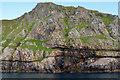 NF1198 : Cliffs on Oisebhal by John Allan