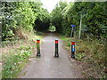 SO9061 : Cycle path at top of Yew Tree Hill by Jeff Gogarty