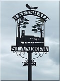 TM3886 : Ilketshall St. Andrew Village Sign by Keith Evans