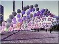 SJ8097 : Evening Performance, Mini Burble at MediaCityUK by David Dixon