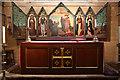 TQ2375 : All Saints, Putney Common - Reredos by John Salmon