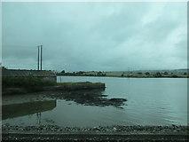 W7871 : Landing stage, Foaty Island by Jonathan Thacker