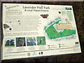 SP2377 : One of the interpretive signs, Lavender Hall Park, Balsall Common by Robin Stott