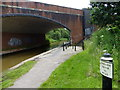 SJ8551 : Trent & Mersey Canal Milepost by Mat Fascione