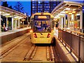 SJ8097 : Metrolink Stop, MediaCityUK by David Dixon