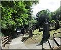 S1388 : Churchyard at St. Cronan's church, Roscrea by Jonathan Thacker