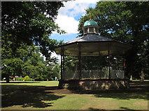 SJ6855 : Queen's Park: bandstand by Stephen Craven