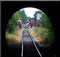 SE3030 : Middleton Railway - under the M621 by Chris Allen