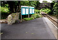 SN0100 : Information boards on Lamphey railway station by Jaggery