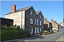 SM7525 : 44 and 46 High Street, St Davids by Philip Pankhurst