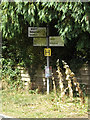 TM1668 : Roadsign on Bedingfield Road by Adrian Cable