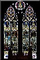 SJ3589 : Liverpool Cathedral, Te Deum Window by David Dixon