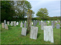 SS6138 : St Michael & All Angels church, Loxhore: churchyard (iii) by Basher Eyre