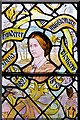 SJ3589 : Liverpool Cathedral Staircase Window, Anna Hinderer by David Dixon