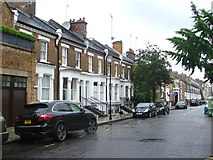 TQ2677 : Tadema Road, Chelsea by Chris Whippet