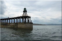 NZ8911 : The end of West Pier, Whitby by David Smith