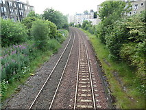NT2470 : Site of Morningside Road Station (2) by David Hillas