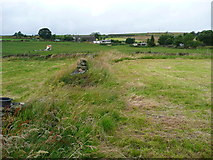 SE0322 : Sowerby Bridge FP115 (Link B) at a field corner by Humphrey Bolton