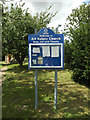 TM1170 : All Saints Church Notice Board by Geographer
