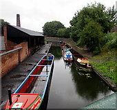 SO9491 : Dudley Canal in the Black Country Living Museum, Dudley by Jaggery