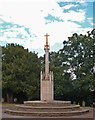 TL2601 : War memorial, Potters Bar by Julian Osley