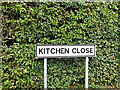 TM0969 : Kitchen Close sign by Geographer
