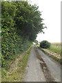 TM0968 : Church Lane, Wickham Skeith by Geographer