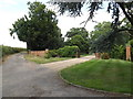TM0969 : Entrance to Vicarage Hall by Geographer