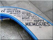 SJ8097 : Nine Dock Sculpture (Detail) by David Dixon