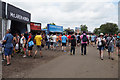 SP6641 : Fast food outlets at Club Corner, Silverstone by Ian S
