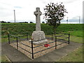 TF5801 : The roadside War Memorial at Salter's Lode by Adrian S Pye