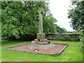 TF7815 : The War Memorial at West Acre by Adrian S Pye