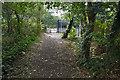 TQ0365 : Footpath, Chetsey by Alan Hunt