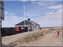 NJ6864 : Banff Marina office by Stanley Howe