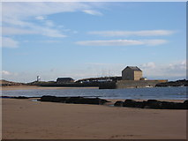 NT4999 : Elie Granary, Harbour and Pier by frank smith