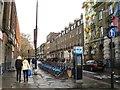 TQ3082 : Bike hire station, Belgrove Street, King's Cross, London by Robin Stott