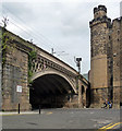 NZ2563 : Bridge, St Nicholas Street, Newcastle by Stephen Richards
