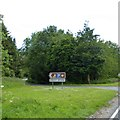 TA0762 : Turning for Bracey Bridge picnic site by David Smith