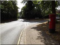 TM1745 : Tuddenham Road & 123 Tuddenham Road Postbox by Adrian Cable