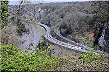 ST5673 : The Portway and Bridge Valley Road by Anthony O'Neil