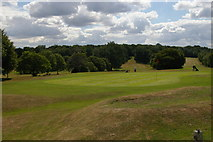 TQ3870 : Beckenham Place Park: golf course and woods by Christopher Hilton