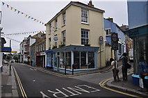 SW8132 : Falmouth : Arwenack Street by Lewis Clarke