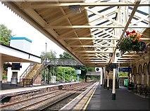 J2664 : The eastern end of Lisburn Railway Station by Eric Jones