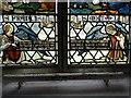 TG1733 : Aldborough Memorial window (detail) by Adrian S Pye