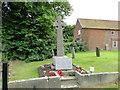 TG1923 : Marsham War Memorial by Adrian S Pye