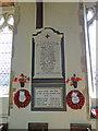 TG2236 : Roughton War Memorial by Adrian S Pye