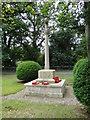 TG2219 : Hainford or Haynford War Memorial by Adrian S Pye
