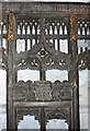 SE0989 : Medieval carving II, Holy Trinity Church, Wensley by Bill Harrison